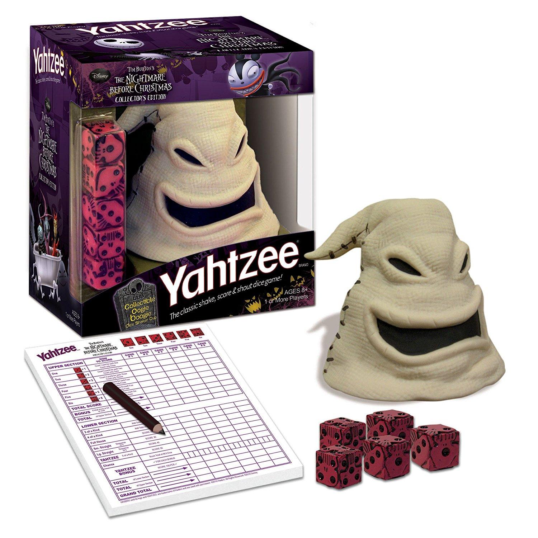 yahtzee tim burtons the nightmare before christmas oogie boogie - The Nightmare Before Christmas Games
